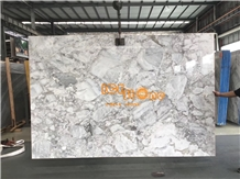 China Super White Horizon Grey Marble Slab & Tile