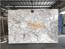 China Super White Horizon Grey Marble Slab & Tile