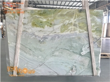 Chinese Dreaming Green Marble Wall Covering