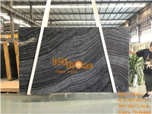Silver Wave Kenya Black Forest Marble Slabs Tiles