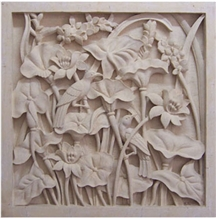 Bali Limestone Carving Floras