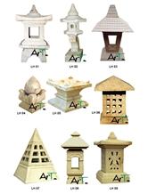 Bali Sandstone Lamp House