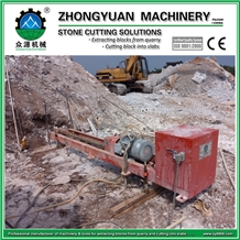 Horizontal Drilling Machine for Stone Quarry 75mm