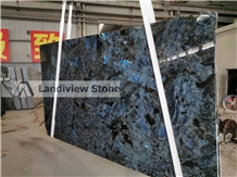 Labradorite Blue Slabs, Lemurian Blue Slabs