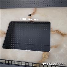 Customized Design Backlit Bath Top for Shower Room Decors