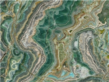 Verde Smeralda Onyx Slabs