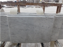 Bianco Carrara Marble Bath Vanity Tops