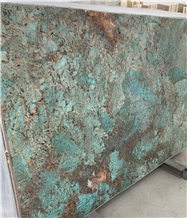 Amazzonite Granite,Amazonita Green Blue Slabs&Tile