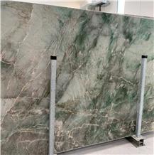 Emerald Green Stone,Pampers Rambo Quartzite Slabs