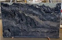 Explosion Blue, Fusion Quartzite Stone Slabs/Tiles