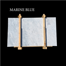 Marine Blue, Afyon Grey Blue Marble Slabs