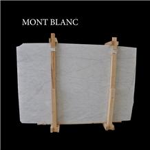 Mugla White Marble Slabs, Ibiza White, Mont Blanc