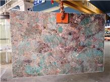 Amazon Green Quartzite Verde Paraíba Granite Slab
