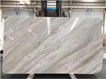 Ash Earl Grey Vein Marble Wall Cladding Tiles Slab