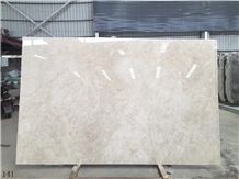 Auman Beige Marble Cappuccino Slab in China Market
