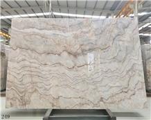 Blonde Cloud Onyx Beige White Onix Jade Slab Tile