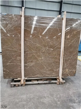 Cazeau Brown Marble Ka Zuo Fei Coffee Stone Slab