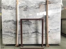 China Abba Grey Marble Yabo Gray Vatican Ash Slab