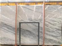 China King White Well Marble Slab, Tile