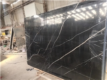 China Negro Marquina Marble Black and White Tiles