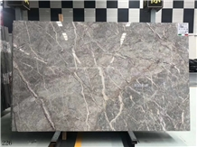 Fior Di Pesco Classico Breccia Grey Marble Slab