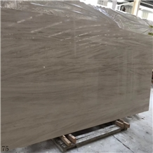 French Wood Marble Beige Cream Stone Slab Tile