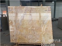 Golden River Marble Yellow Gold Marble Slab Stone