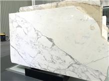 Italy Calacatta Carrara White Marble Slabs