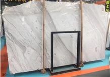 Jazz White Marble Volakas Venus Branco Slab Stone