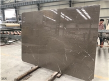 Jordan Grey Marble Gray Limestone Slab in China