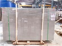 Manolya Beige Marble Grey Stone Slab in China