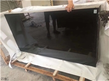 New Mogolian Black Negro Monterrey Marble Slab