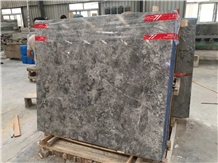Oscar Ash Gray Marble Slabs Polished Floor Tiles