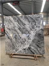Solar Grey Marble Slab Floor Wall Tile in China