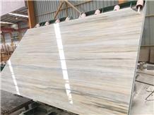 Striato Argento Marble Veria Stripes Greek White