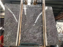 Temple Grey Marble Storm Cloud Gray Cloudy Slab