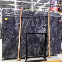 Turkey Black Agate Marble Karaoz Spider Mugla Slab