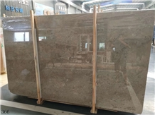 Turkey Macchiato Brown Marble Slab in China Market