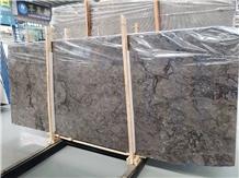 Turkey Rolex Ash Grey Marble Slab in China Market