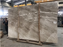 Turkish Dino Beige Marble Reale Slab in China