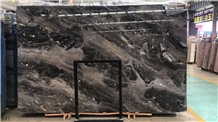 Venice Gold Brown Marble Slab in China Market
