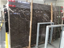 Venus Gray Aosta Ash Marble Slabs Wall Panel
