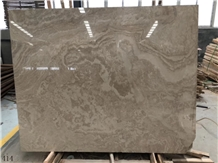 Vienna Grey Ash Marble Gray Stone Slab in China