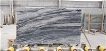 Yabo Grey Marble Semi White Abba Ash Stone Slab