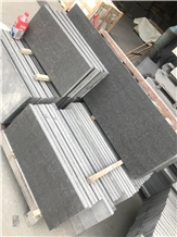 Vietnam Black Basalt Slabs & Tiles Pool Cladding