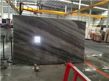 Elegant Brown Marble Slabs and Tiles Wall Floor