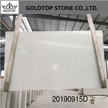 Engineered/Artificial White Volakas Marble Quartz