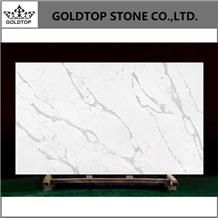 Goldtop Calacatta Quartz Slabs Caesarstone