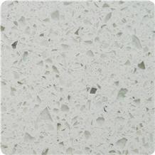 Light Color Quartz Sparkly Stone