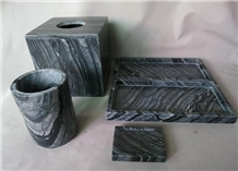 Marble Hotel Accessories Bathroom Sets Soap Dish